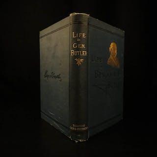1879 1ed Life of Civil War General Benjamin Butler