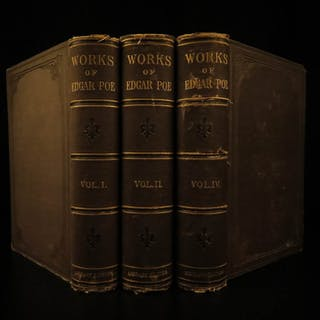 1881 Edgar Allan Poe Macabre Esoteric Occult Horror