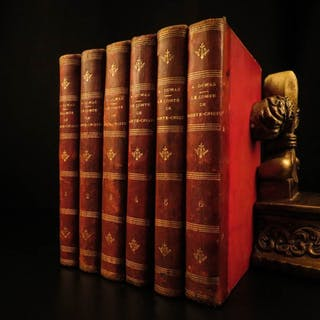 1886 The Count of Monte Cristo Alexandre Dumas French