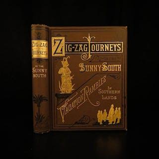 1887 1ed Journeys South Cuba Negro Tales Illustrated