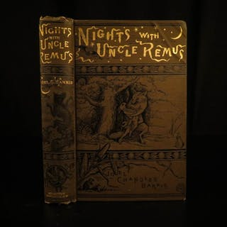 1899 Nights with Uncle Remus Joel Harris Illustrated