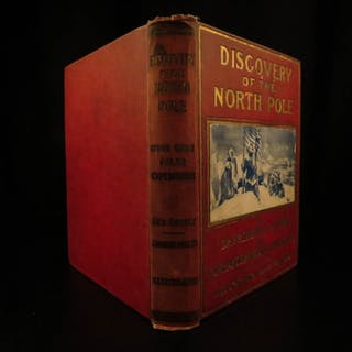 1909 1ed Discovery of North Pole American Cook & Peary