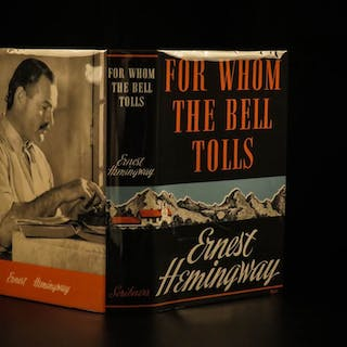 1940 1st ed For Whom the Bell Tolls Ernest Hemingway