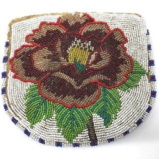 Ojibway Beaded Bag