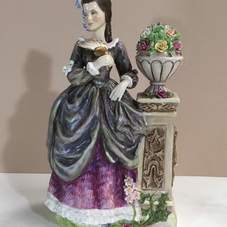 RENAISSANCE BONE CHINA FIGURINE LOUISE