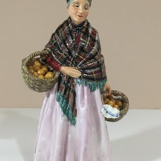 ROYAL DOULTON FIGURINE HN1759 THE ORANGE LADY