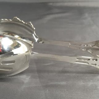 STERLING SILVER ICE TONGS