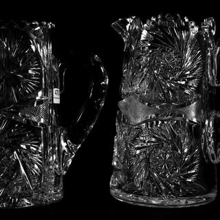 (2) Water Pitchers, ABCG
