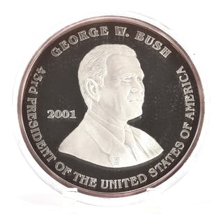 Washington Mint Sterling Half Pound Giant Proof Coin