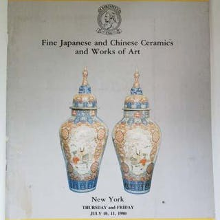 Fine Japanese and Chinese Ceramics and Works of Art Christie's