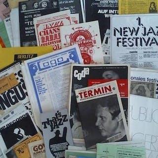 Sammlung von über 100 Dokumenten zum Thema Jazz /...