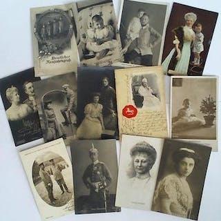 Sammlung von 13 verschiedenen Ansichtskarten (Deutsche...