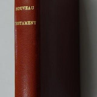 Le nouveau testament traduit en francais sous la...