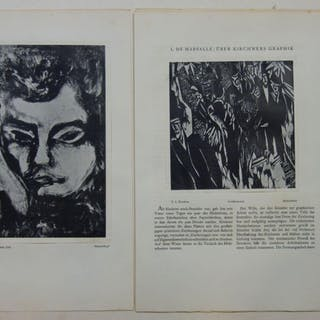 Marsalle, L. de: Über Kirchners Graphik. Kirchner, Ernst Ludwig