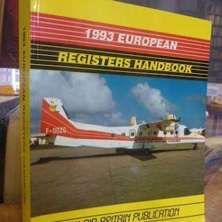 1993 European Registers Handbook - An Air-Britain...