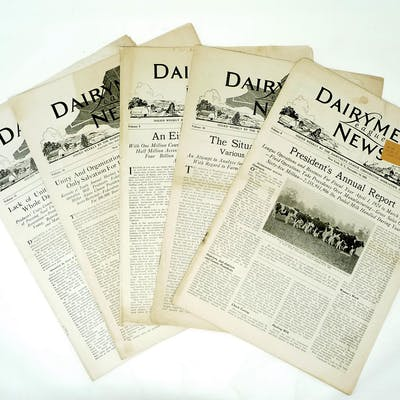 Dairymen's League News (5 issues)