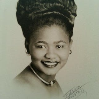 Vintage African American Beauty Chicago Girl Fashion Fidson Houston