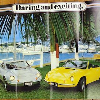 PUMA GTS Original poster Darling and exciting Puma GTE & GTS