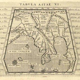 'Tabula Asiae XI.':. SÜDOSTASIEN (Southeast Asia): Alte Landkarten