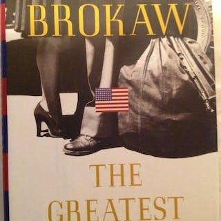 The Greatest Generaation Brokaw, Tom Award-Winning Books,Nonfiction,Scarce Books