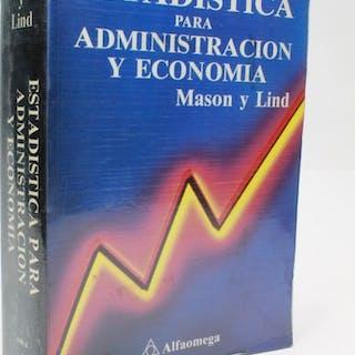 Estadística para administración y economía E8 Robert D. Mason y Douglas A. Lind