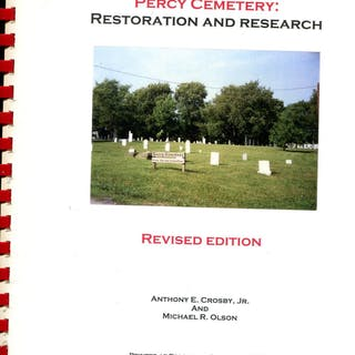 Commemorating Frostburg's Percy Cemetery: Restoration and Research Anthony E