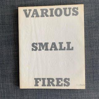 Various Small Fires Edward Ruscha