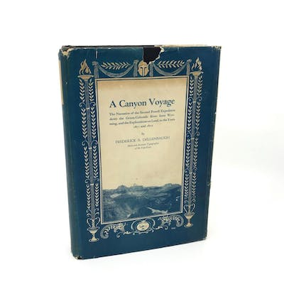 A Canyon Voyage; The Narrative of the Second Powell...
