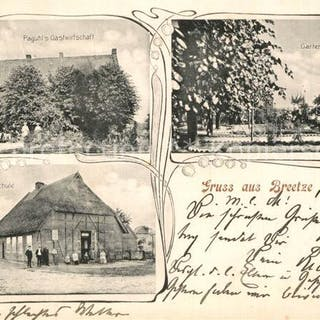 Postkarte Carte Postale 33558885 Breetze Paguhls...