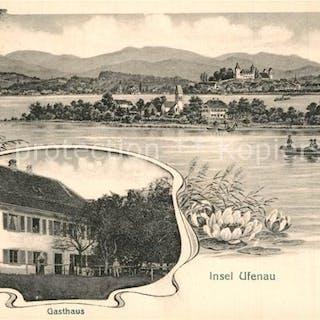 Postkarte Carte Postale 13567338 Insel Ufenau Gasthaus...