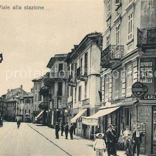 Postkarte Carte Postale 13567000 Bellinzona Viale alla stazione Bellinzona   Bz