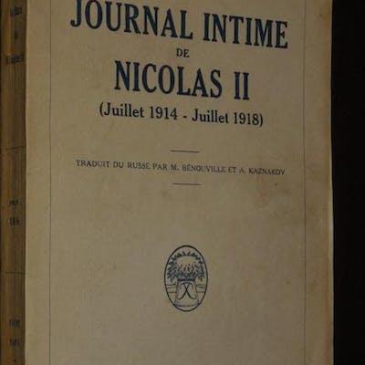 Journal intime de Nicolas II (juillet 1914 - juillet 1918) Nicolas II