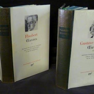 Oeuvres de Gustave Flaubert (Tomes I et II- La Pléiade) Flaubert Gustave