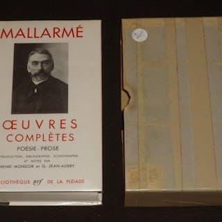 Oeuvres complètes de Mallarmé : Poésie - Prose (La Pléiade) Mallarmé Stéphane