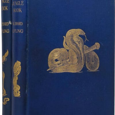The Jungle Book [and] The Second Jungle Book KIPLING