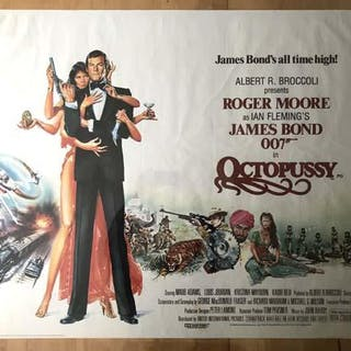 [MOVIE POSTER] Octopussy [FLEMING