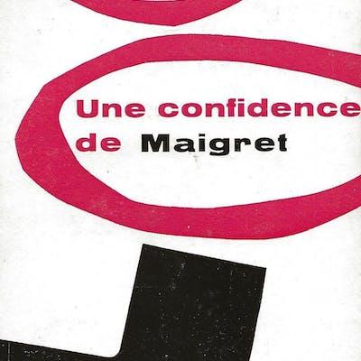 Une confidence de Maigret. SIMENON (Georges).