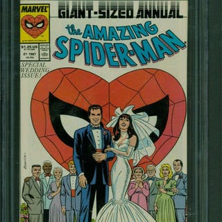 Amazing Spider-Man (1963 1st Series) Annual #21 CGC 9.6...