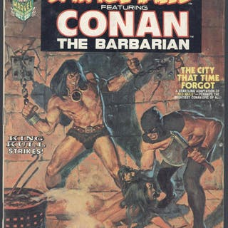 Savage Tales #2 Conan The Barbarian Very Good / Fine...