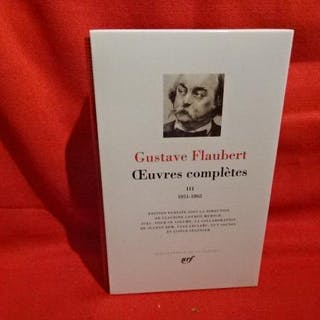 Oeuvres complètes-Tome III. (1851-1862). FLAUBERT (Gustave) LITTERATURE