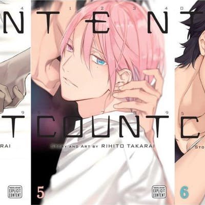 TEN COUNT Series by Rihito Takarai EXPLICIT MANGA...
