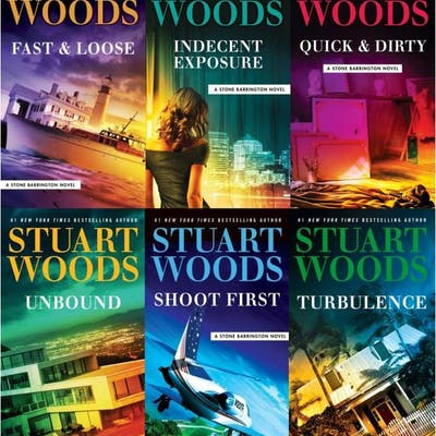 Stuart Woods STONE BARRINGTON Series Collection Set of...