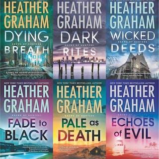 Heather Graham KREWE OF HUNTERS Paranormal Series Set of...