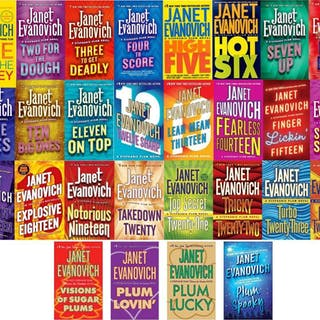 Janet Evanovich STEPHANIE PLUM Series Books 1-24 PLUS...