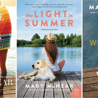 BUTTERNUT LAKE Fiction Series by Mary McNear LARGE TRADE...