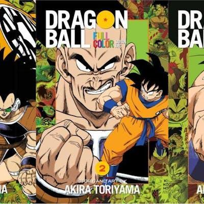 Dragon Ball Saiyan Arc MANGA Collection Set of PAPERBACK...