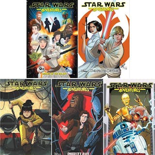 STAR WARS ADVENTURES Graphic Novel Series Collection of...