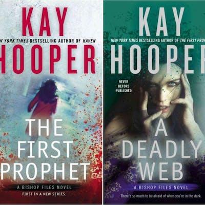 BISHOP FILES Series by Kay Hooper PAPERBACK Set 1-2 First...