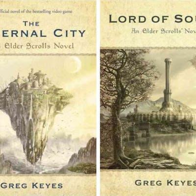 ELDER SCROLLS by Greg Keyes - Infernal City & Lord of...