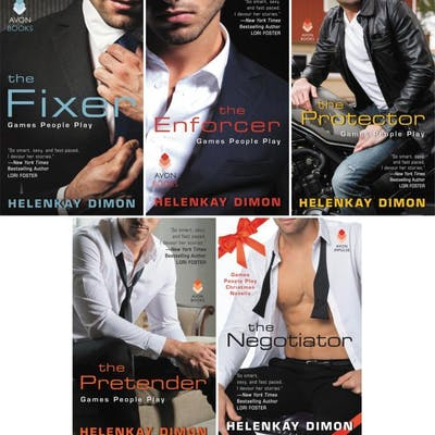 GAMES PEOPLE PLAY Romance Series by Helenkay Dimon Books...